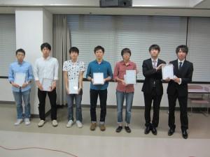 ⑨2014構造デザインコンテスト_学生の部受賞者